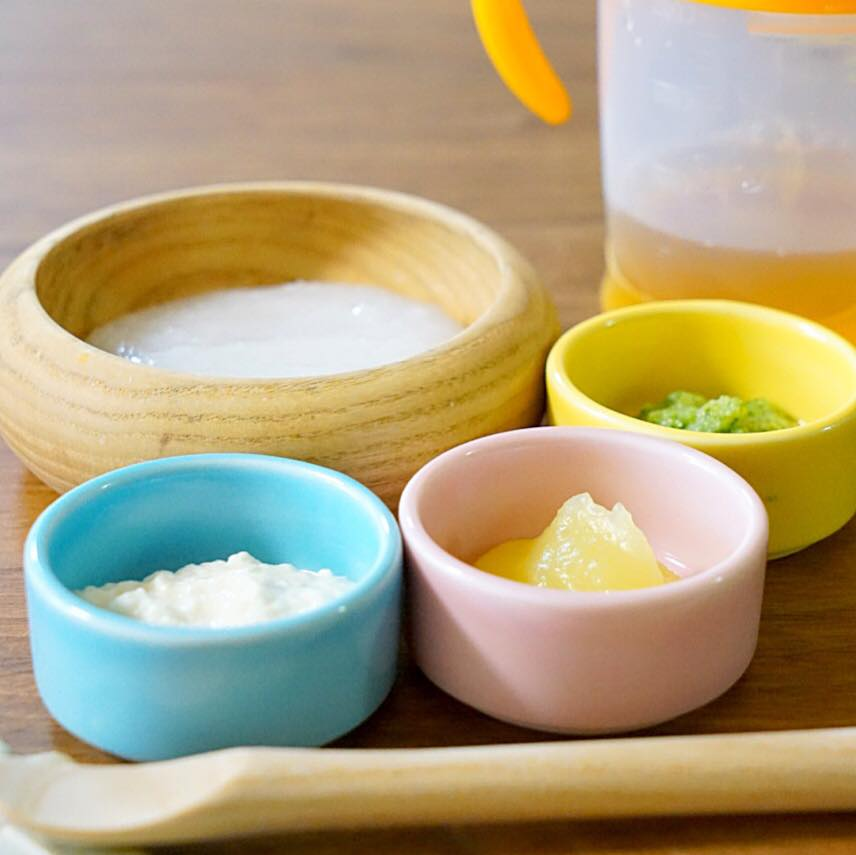 【ステップ1】離乳食17日目(0歳6ヶ月1週目)
